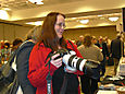 Mary Reagan (and her camera)